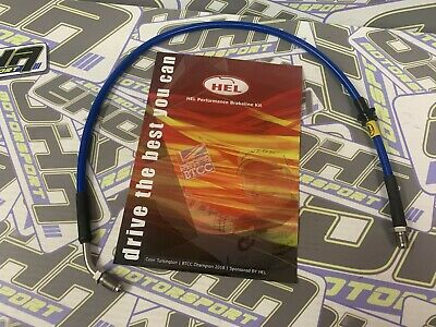 HEL Performance Stainless Clutch Line Hose for Mazda MX5 1990-2005 Full Length