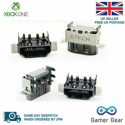 Xbox One X OEM 4K HDMI Display Port Jack Socket Connector Replacement