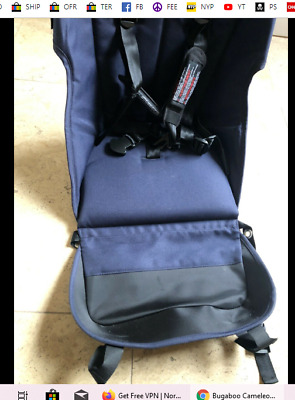 Bugaboo Cameleon 3 Seat Navy Blue Baby Stroller - Replacement Fabric Seat Only