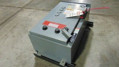 USED Square D 8810DCA4V02S Combination Starter Size 1 10HP