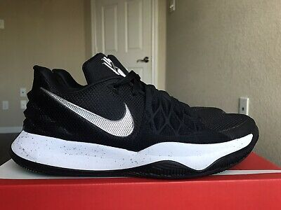 Nike Kyrie Low 1 Black Metallic Silver Men's Size 9.5