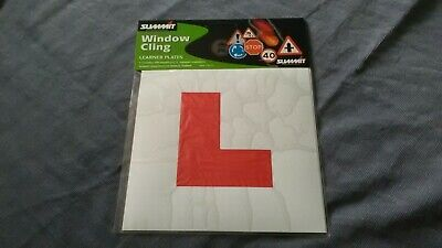 1 packs summit interior Window Learner Cling Plates Pair