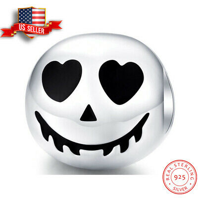 HALLOWEEN GHOST SCARY Enamel Italian 9mm Charm NC290 Fits Nomination Classic