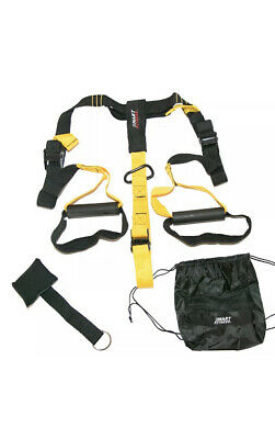Quality Suspension Straps/Trainer Kit (Gym Training/MMA Workout System/Fitness)
