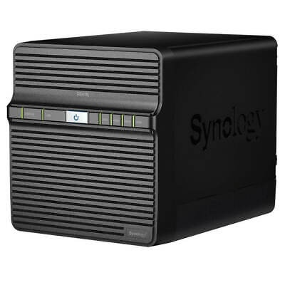 Synology DS418J DiskStation, 4 Bay Desktop NAS, Dual Core 1.4 GHz, 1GB RAM