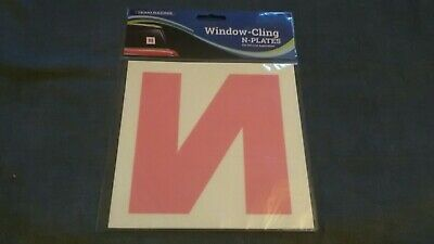 Window Cling N Plates By Team Racing Only For Ireland