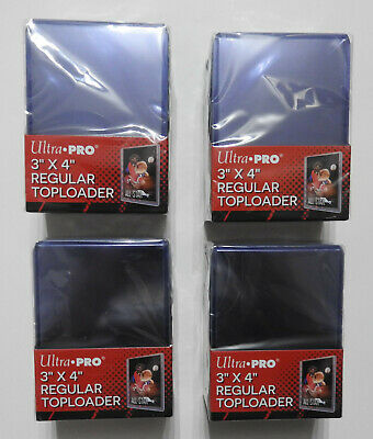 Ultra Pro Top Loaders - Clear - 3 X 4 Inch (X100)    - Free P&P