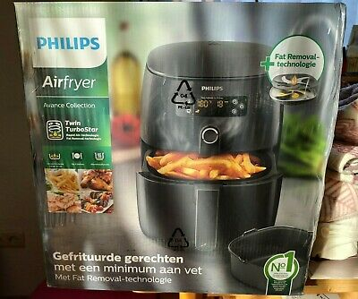 PHILIPS HD974590 AIRFRYER Twin Turbo Star Heißluftfritteuse