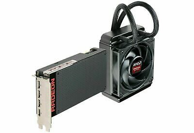 AMD Radeon R9 Fury X HBM PCI-E Graphics Video Card Water Liquid Cooled **AS IS**