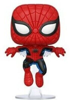 80th - First Appearance Spider-Man - Funko Pop! Marvel: (2020, Toy NUEVO)
