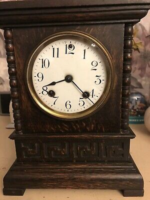 Ansonia Mantle Clock 1895 With Keys