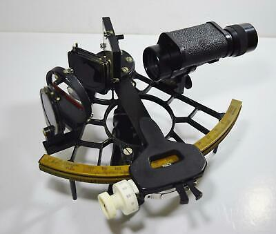 1970's Cassens & Plath Sextant no. 26809 Marine Ships Nautical Instrument + BOX