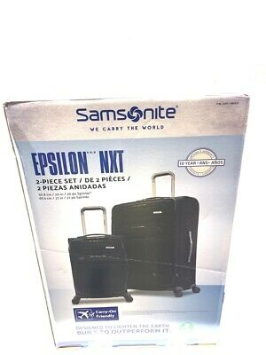 Samsonite Epsilon 2Pc Luggage Set (U10008199)