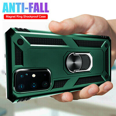 For Samsung Galaxy S20 Plus/S20 Ultra S10 Case Shockproof Armor Ring Stand Cover