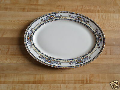 "Vintage Lenox Golden Gate Platter - Oval - 11"" x 8"" - China"