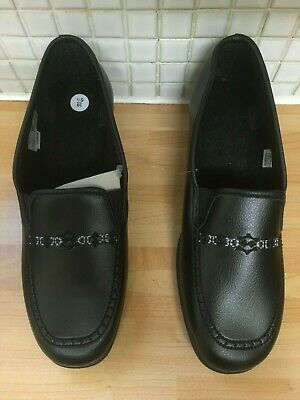 Womens Ladies Loafer Slip On Shoes Size 5.5/39 NEW* Black Uk Freepost