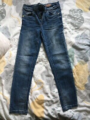 Kids Bluezoo Debenhams Jeans Age 9 Worn Once Blue Skinny Trousers
