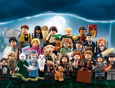 Harry Potter Minifigures Ron Hermione Dumbledore Voldemort Cedric Malfoy Magic