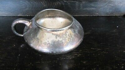 Vintage Tudric sugar bowl pewter?