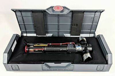 "NEW Sealed Star Wars Galaxys Edge Legacy Lightsaber TEMPLE GUARD w/36"" Blade"