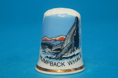 Humpback Whale (found in all parts of Ocean except Polar seas) ChinaThimble B/17