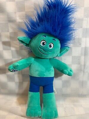 "New Build A Bear Dreamworks Trolls Plush Cooper Troll 12/"" Tall Good Quality"