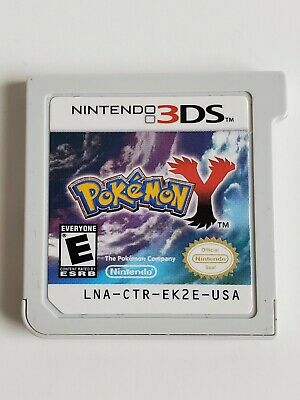 Pokemon Y (3DS, 2013) Tested Authentic Canadian Free Ship Nintendo.