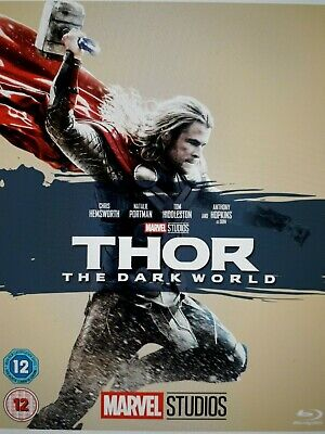 Thor (Blu-ray, 2011) BRAND NEW SEALED WITH O RING SLEEVE