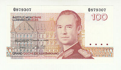 Luxembourg 100 Francs P 57a 1980 UNC Low Shipping P- 57 a Combine FREE!