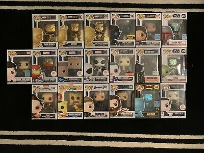 Funko Pop! Mystery Box (Chase, Rare, Vaulted, Exclusive, & Regular) + Protector