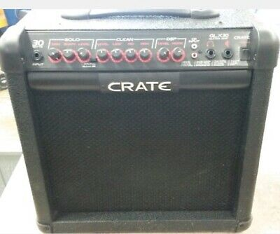Crate Guitar Amplifier GLX30 AMP USED EXCELLENT!