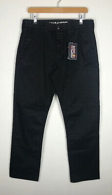 FXD WP-A Work Pants Black 34R Mechanic Red Bull Racing Trousers Auto Technician