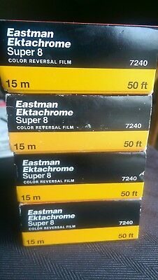 Kodak Eastman Ektachrome 7240 Color Reversal Film NIBExp PricePer 20 Boxes Left