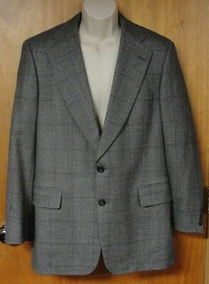 Paul Stuart Vintage Suit Jacket, Size 40 34 Semi Tall Semi Long