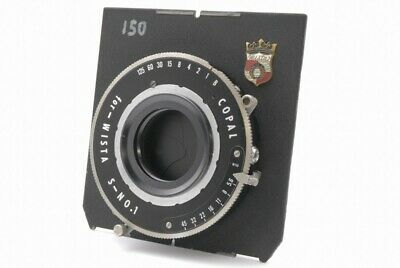 Copal for Wista S-No.1 Shutter w/Wista Board *CF12549