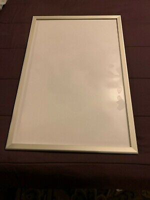 Silver Movie Poster Snap Frame 24 x 36 Inches, Front Loading