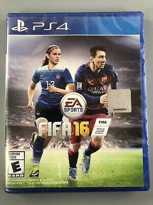 FIFA 16 - Standard Edition - PS4 (Sony PlayStation 4, 2015) ~ Brand New Sealed!