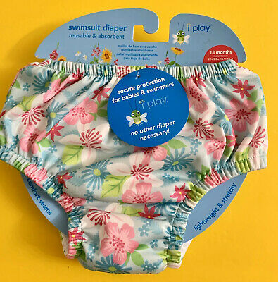 Brand New Infant iPlay Bathing Suit Diaper 18 Months (22-25lbs.)