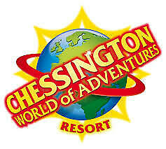 2 Chessington Tickets - Booking Form and 10 Sun Tokens - FAST RESPONSE
