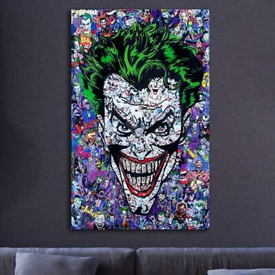 Comic Books Joker HD Canvas prints Painting Home decor Picture Wall art Poster