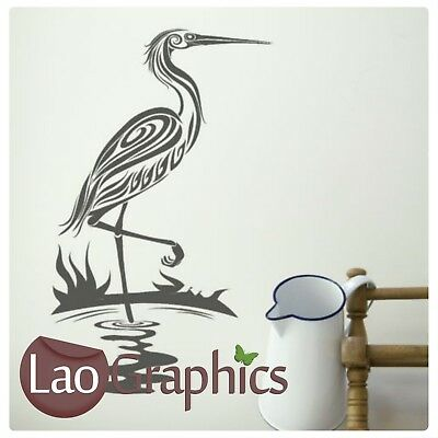 Flamingo Bird Wall Art Sticker Large Vinyl Transfer Graphic Decal Decor UK Bi23