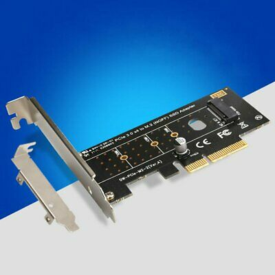 M.2 NVMe SSD NGFF TO PCIE 3.0 X4 adapter M Key interface card Full speed 6Gbps K