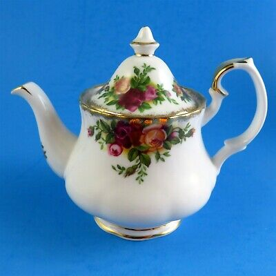 Royal Albert Old Country Roses Tiny Miniature Teapot