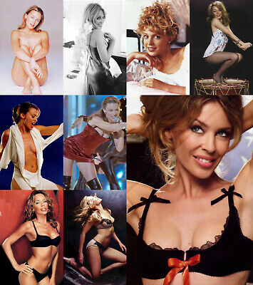 Kylie Minogue - Pack of 5 Glossy Photo Prints - 15 pictures to choose from