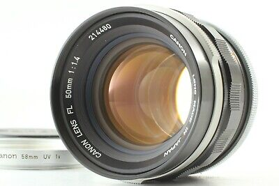 [EXC+++++] Canon FL 50mm f/1.4 MF Standard Lens FD Mount from Japan