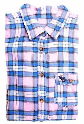 ABERCROMBIE & FITCH Girls Flannel Shirt 13-14 Years XL Multicoloured Check  DF03