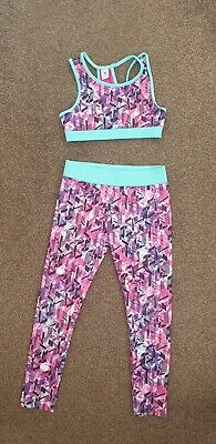 Girls TU active wear outfit size 6 years