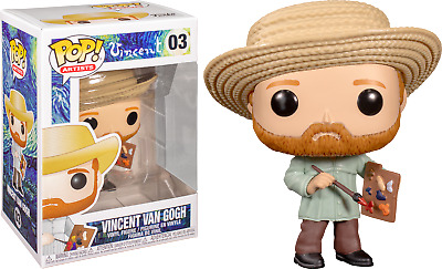 Vincent Van Gogh Artist Funko Pop Vinyl New in Box
