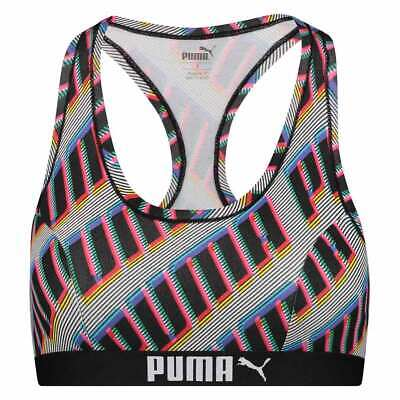 PUMA HIGH NECK RACERBACK Basic Sport BH Tank Top Racer Bra