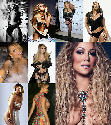 Mariah Carey - Pack of 5 Glossy Photo Prints - 35 pictures to choose from